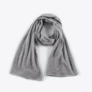Cashmere Scarf in Light Grey