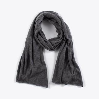 Cashmere Scarf in Dark Grey