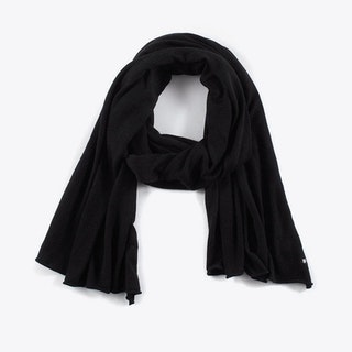Cashmere Scarf in Black