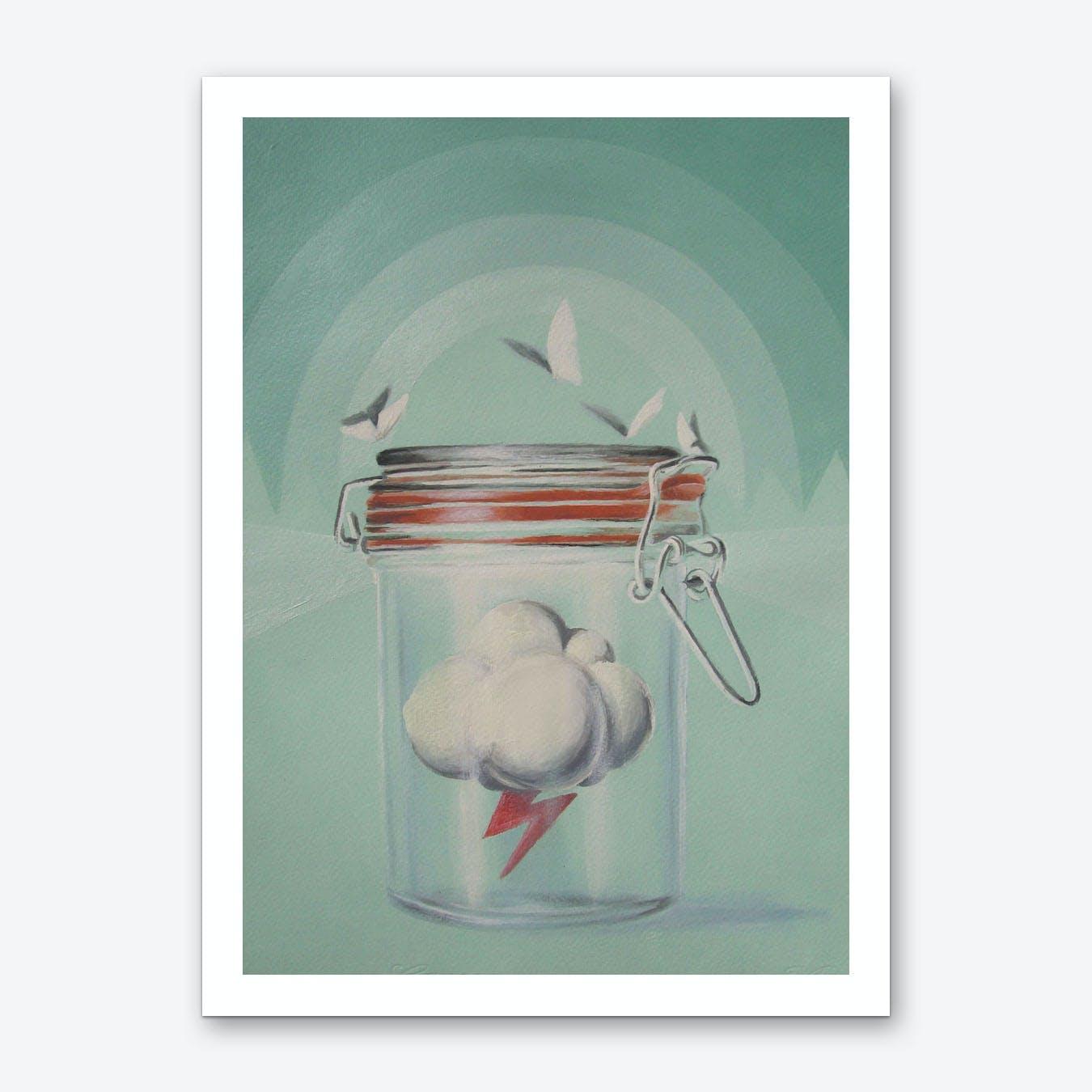 Weather Agency Art Print