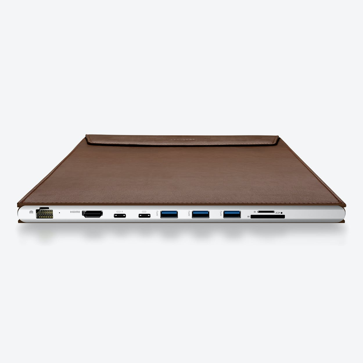 DockCase A1 Laptop Case for 13-in MacBook Pro - Coffee
