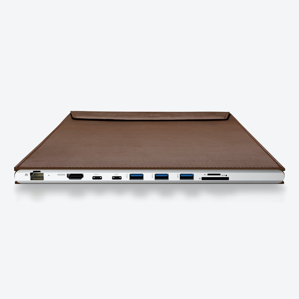 DockCase A1 Laptop Case for 15-in MacBook Pro - Coffee