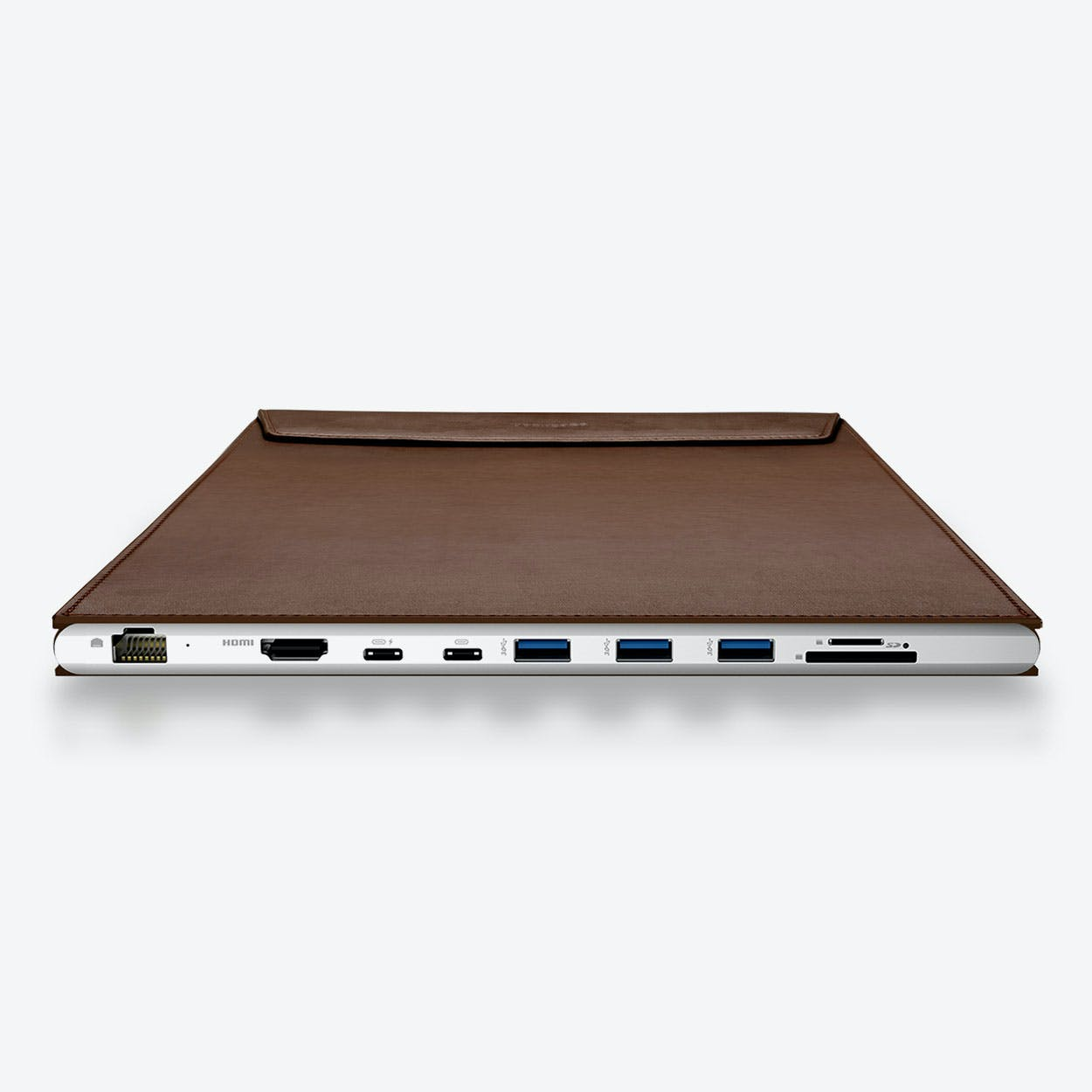 DockCase A1 Laptop Case for 12-in MacBook - Coffee