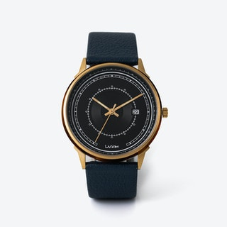 SJÖ Watch - Gold / Black / Beige