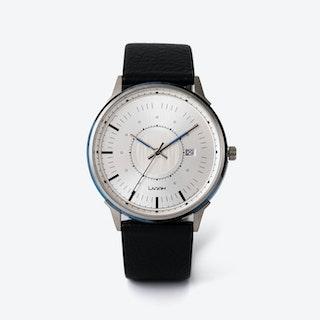 SJÖ Watch - Silver / Silver / DarkGrey