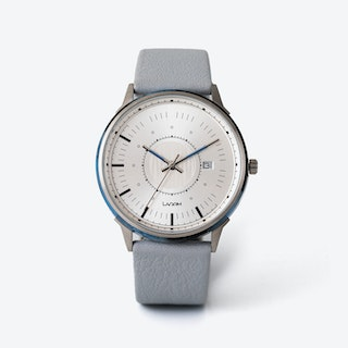SJÖ Watch - Silver / Black / Black