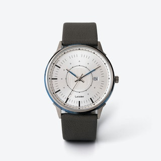 SJÖ Watch - Silver / Black / Navy