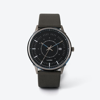 SJÖ Watch - Silver / Navy / Black
