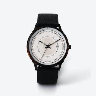 SJÖ Watch - Black / Silver / Brown