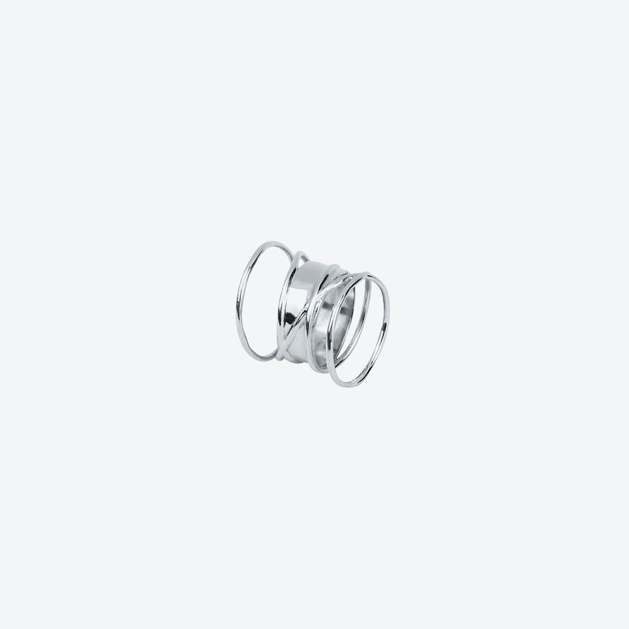 Hypnotize Ring in Silver