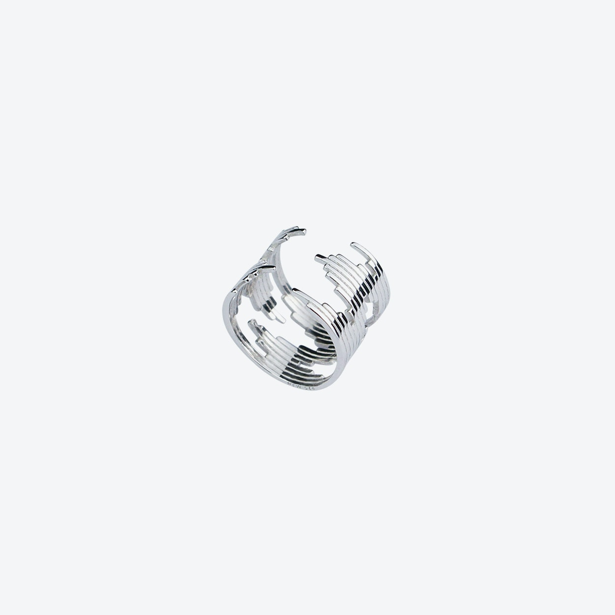 Bel Air Ring in Silver