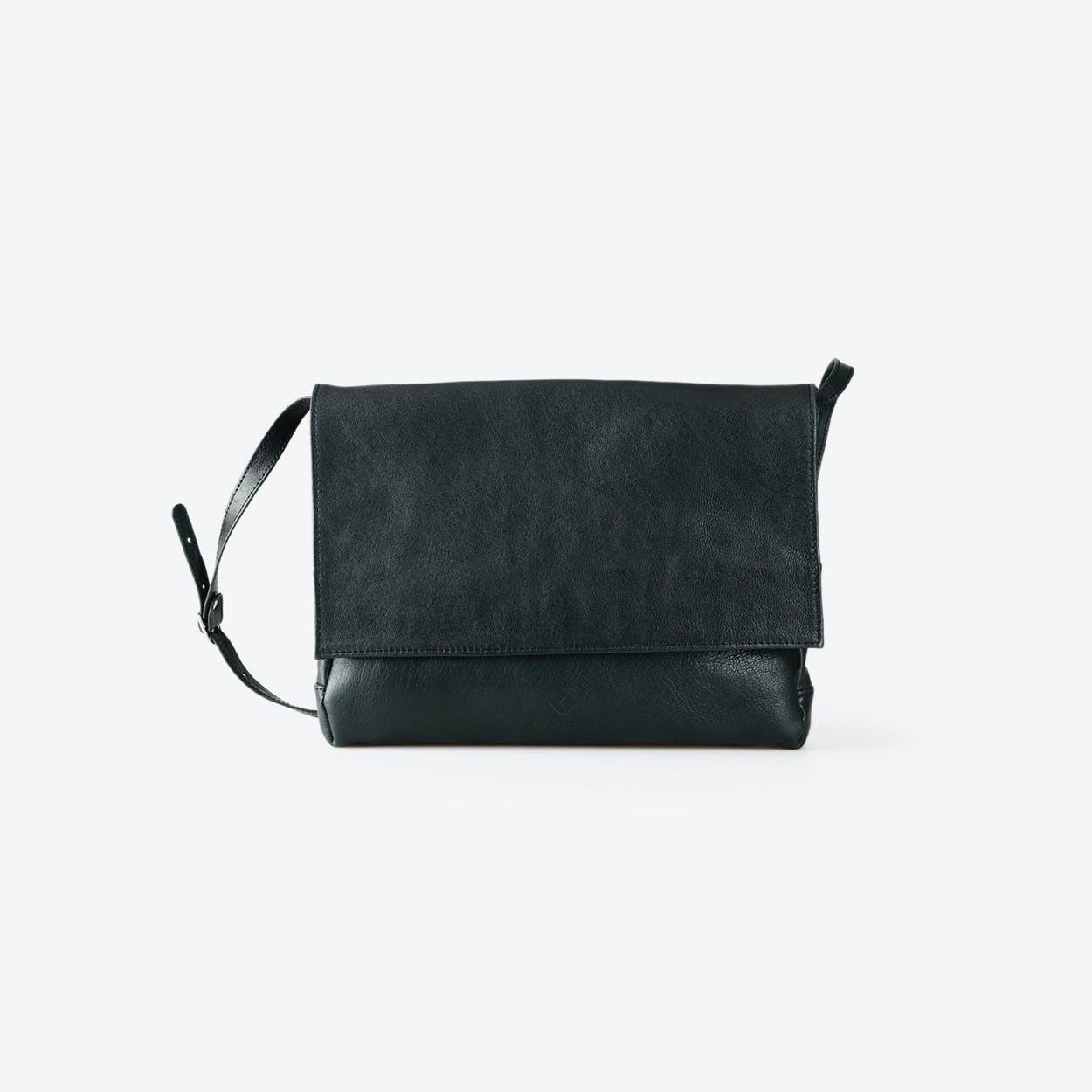 LILLY Black Goat Leather Clutches