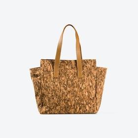 WILMA Dark Cork Shoulder Bag
