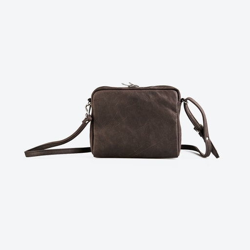 205357228f83 Suede Shoulder Bag in Camel by ImiLoa. Discover Bags on Fy