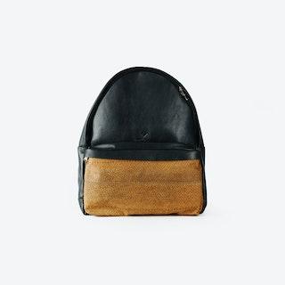 LUDWIG Caramel Fish Leather Backpacks