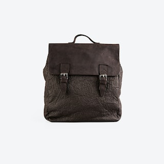 PETERSON Brown Pinatex Backpacks