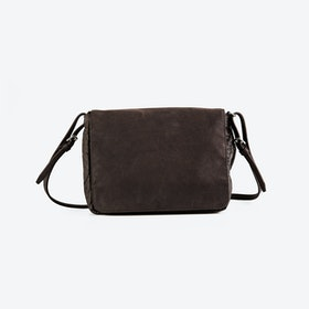 PEG Brown Pinatex Shoulder Bag