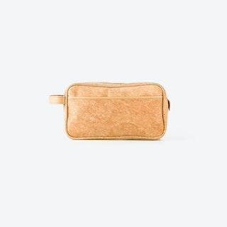 WOMBAT Light Cork Cosmetic Bag