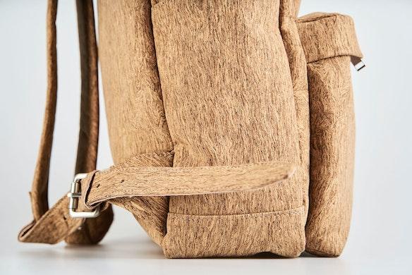 856abef4900a LUDWIG Sand Cork Vegan Backpacks by inakoelln - Fy