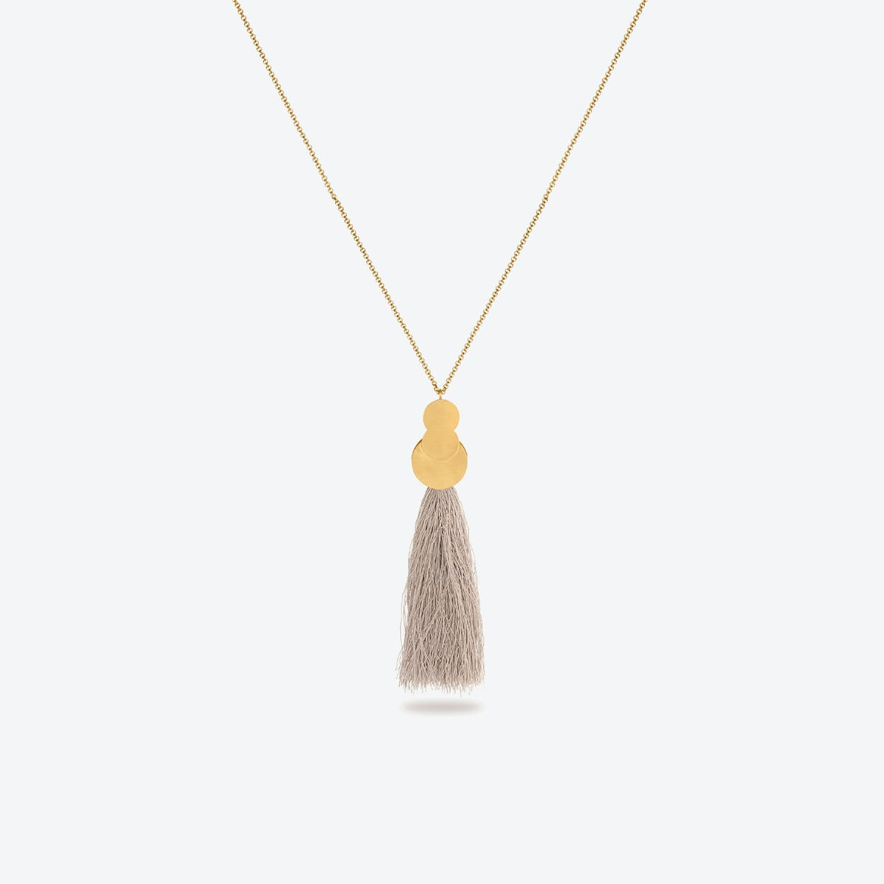 La Nuit Necklaces in Champagne