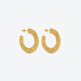 Earrings Gold MIMBRE