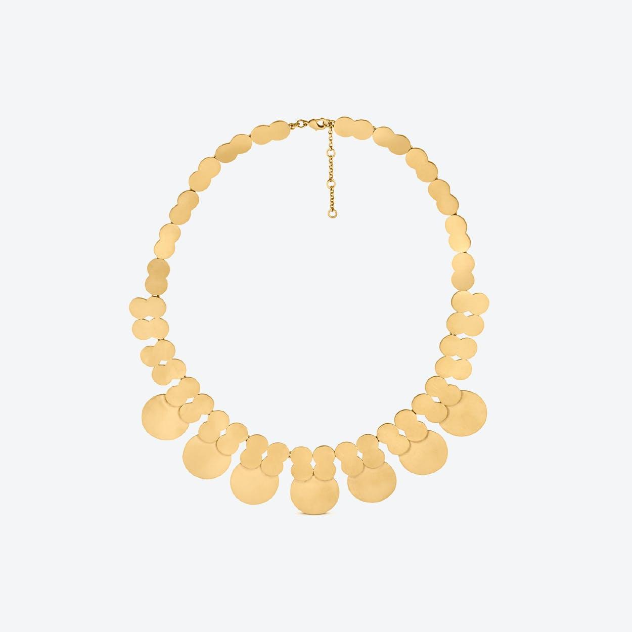 La Nuit Necklaces in Gold