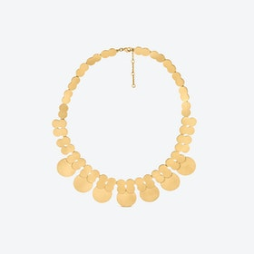 La Nuit Necklaces in Gold