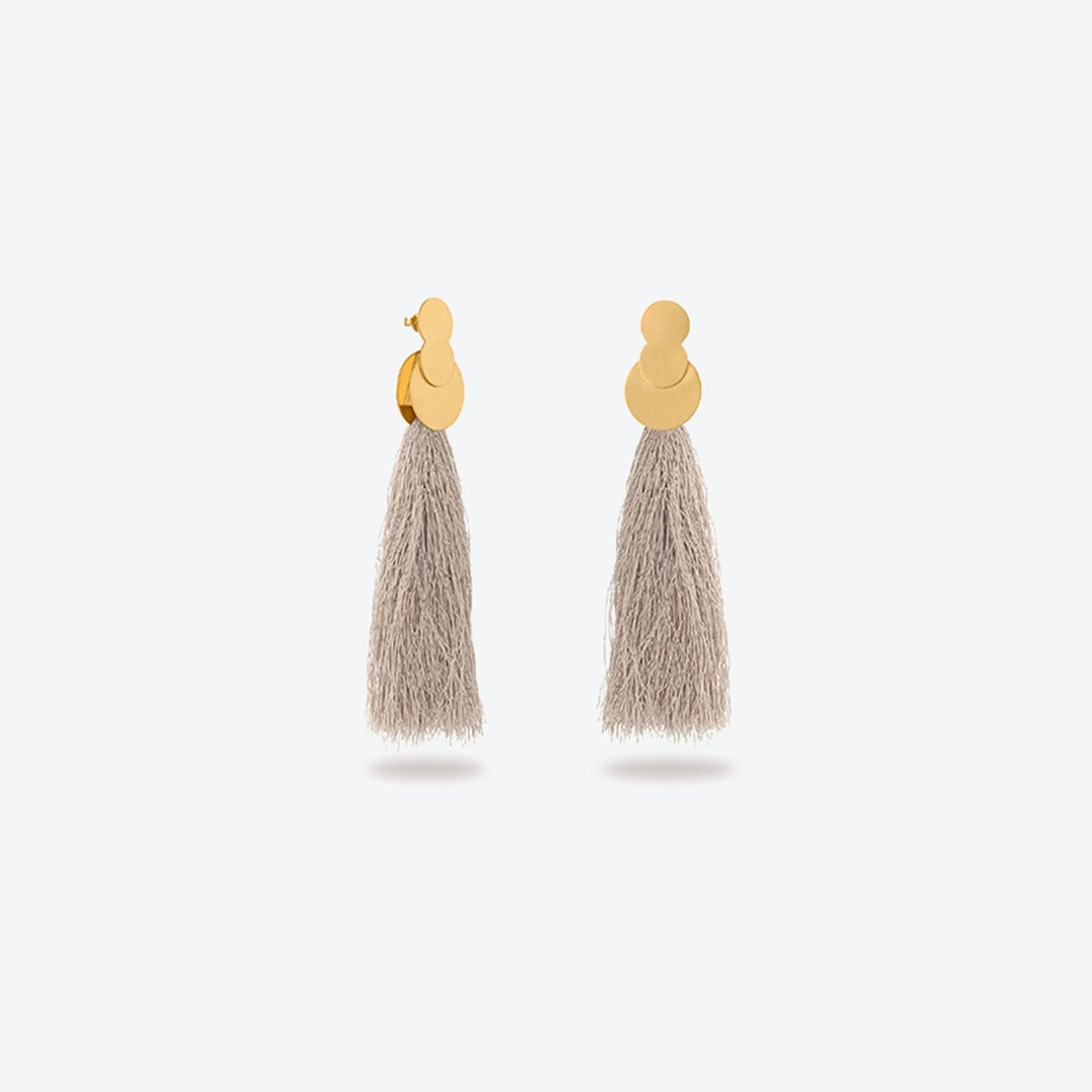 La Nuit Earrings in Champagne