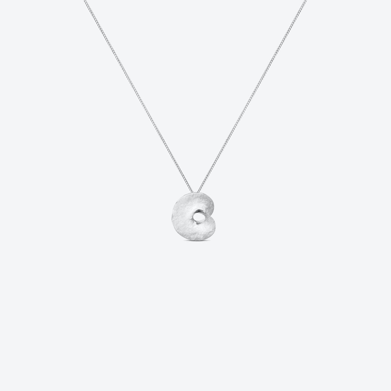 Silver Infinite Love Necklace