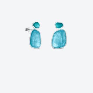 BORN Silver Earrings