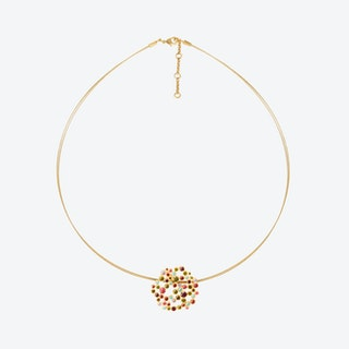 CANDY COLOURS Necklace Gold