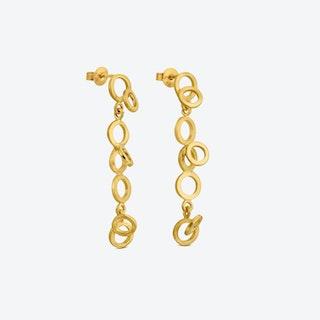 CARLA Gold Earrings