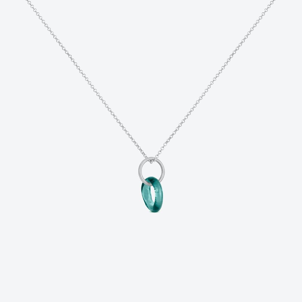 Caramel Necklaces in Sea-Blue