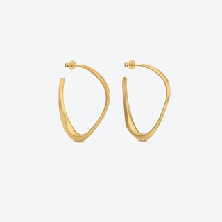Gold Earrings FORGE