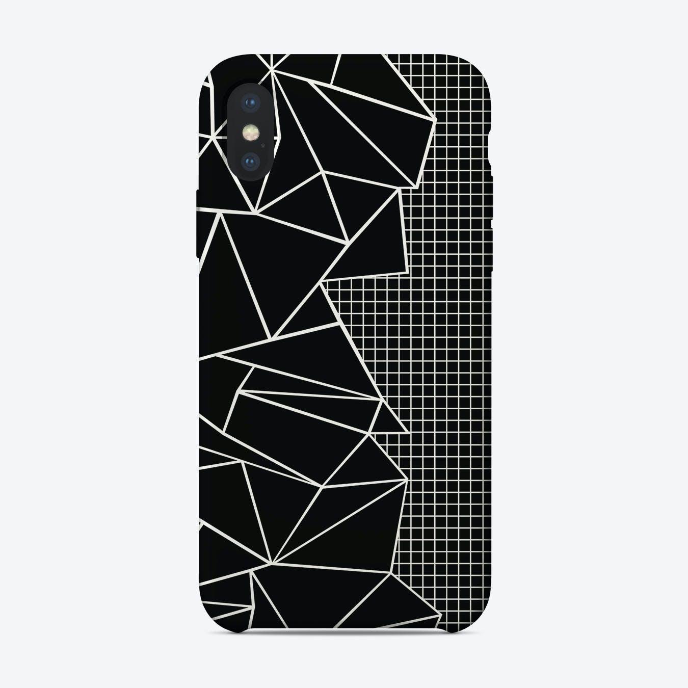 Ab Grid iPhone Case