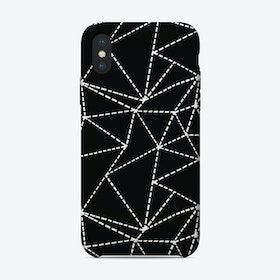 Ab Dotted Lines iPhone Case