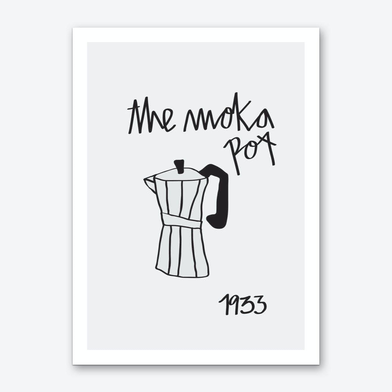 Moka Pot Art Print