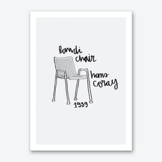 Landi Chair Art Print