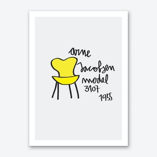 Arne Jacobsen Art Print