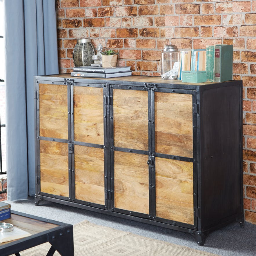 Reclaimed Wood Large Sideboard