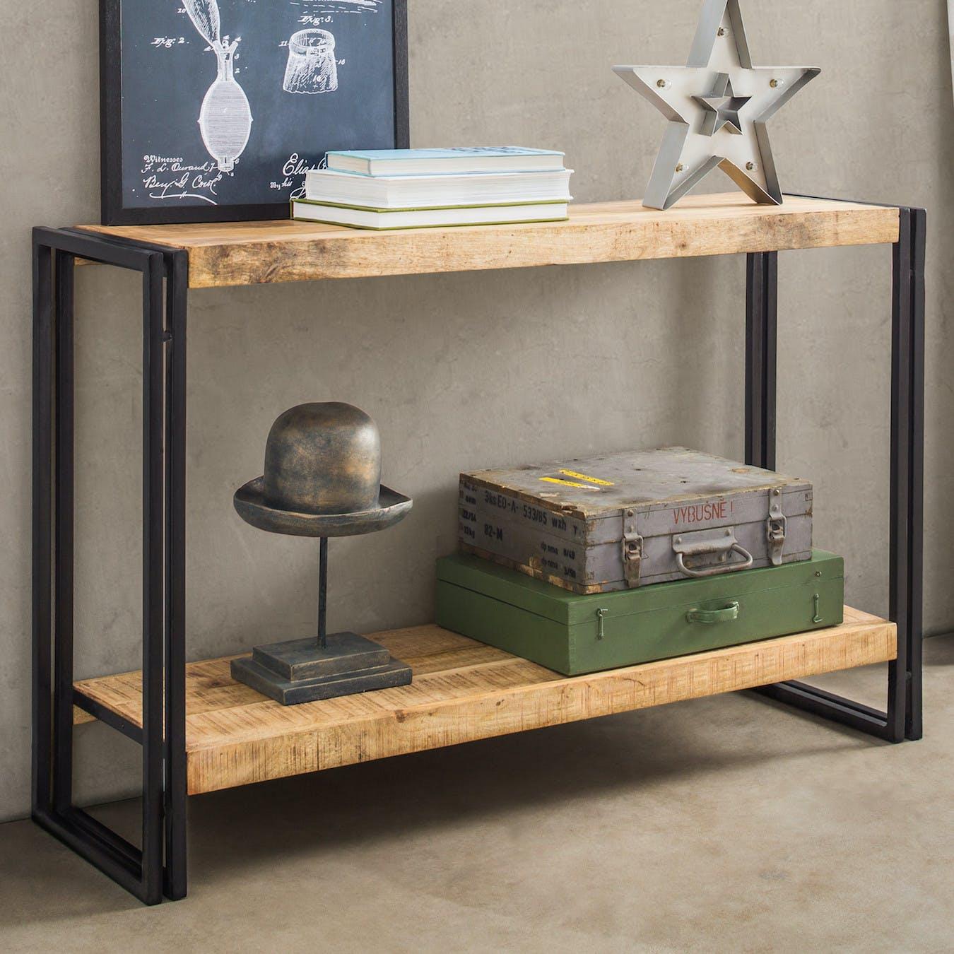 Mango Wood Console Table