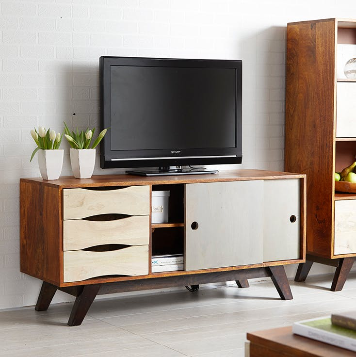 Mango Wood Plasma Media Unit