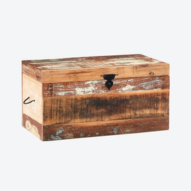 Wooden Trunk Box