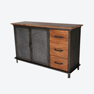 EVOKE 3 Drawer Sideboard