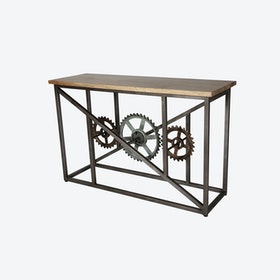 EVOKE Console Table w/ Wheels