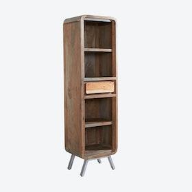 Narrow ASPEN Bookcase