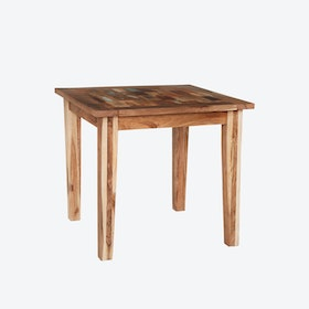 Small Reclaimed Wood Dining Table