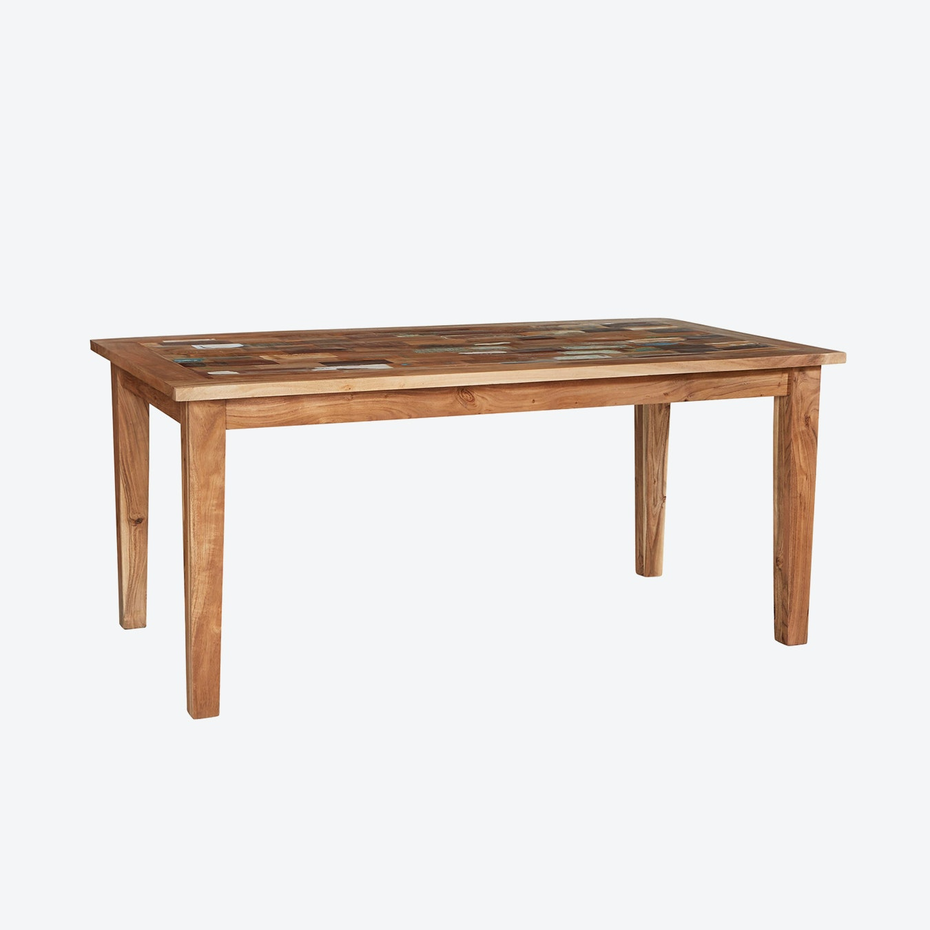 Large Reclaimed Wood Dining Table By Indian Hub Fy