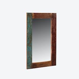 Reclaimed Wood Rectangular Mirror