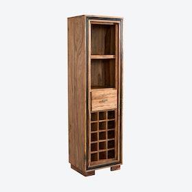 JODHPUR Sheesham Wine Bookcase
